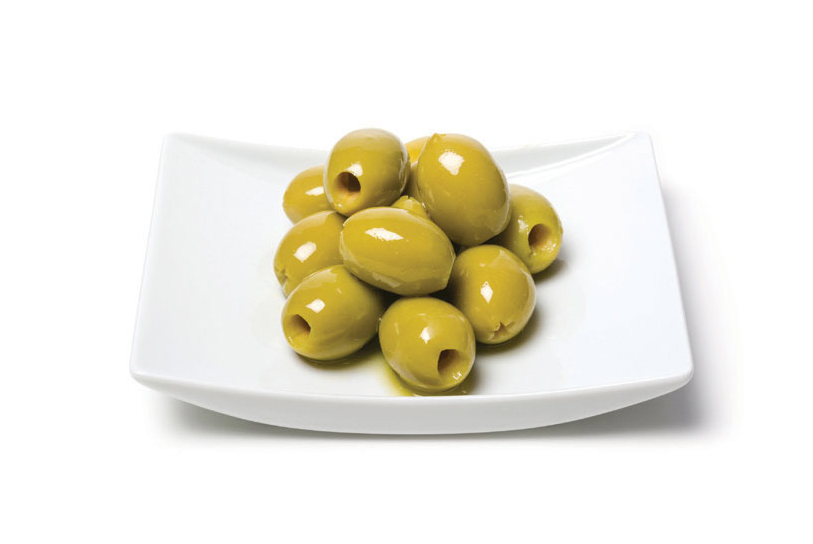 Green Olives Pitted