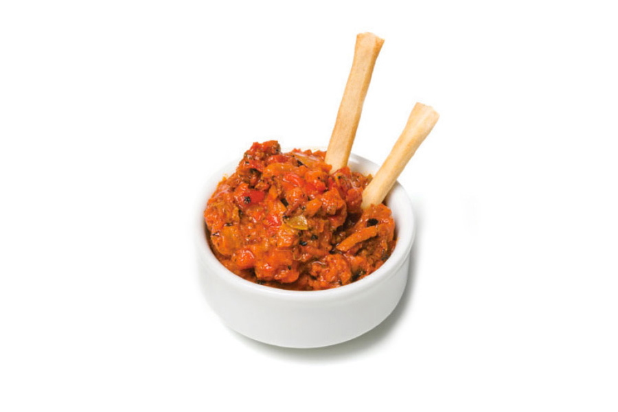 Roasted Red Pepper Cheese Tapenade