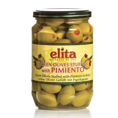 Green Olives Stuffed With Pimiento