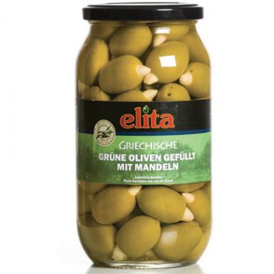 Green Olives Stuffed With Almond