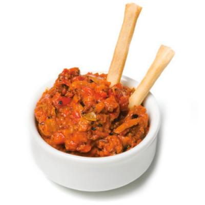5b. Roasted Red Pepper Cheese Tapenade