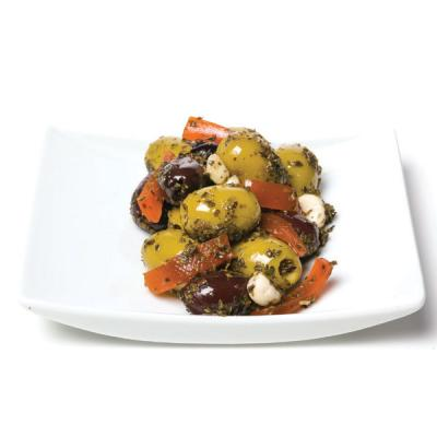 5e. Athos Salad Kalamata Pitted Green Olives Pitted